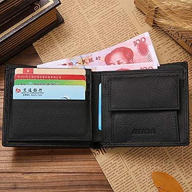Amazon.com: Best Quality - Wallets - Luxury Leather Wallet Fashion Short Bifold Men Wallet Casual Soild Men Wallets With Coin Pocket Purses Male Wallets ...