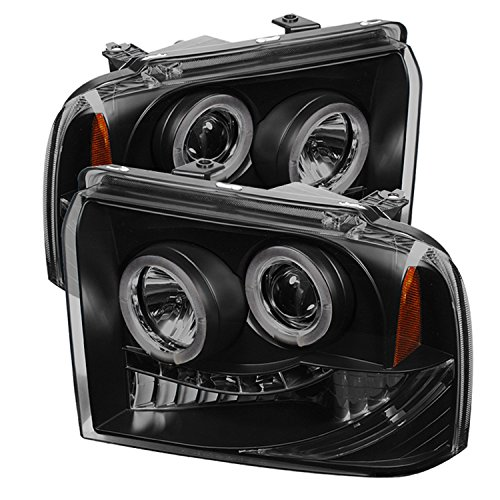 Spyder Auto PRO-YD-FS05-HL-BSM Ford LED Halo Projector Headlight