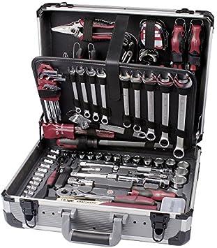 Kraftwerk Caja de Herramientas Universal de Aluminio básica, 207 Piezas 1047: Amazon.es: Bricolaje y herramientas
