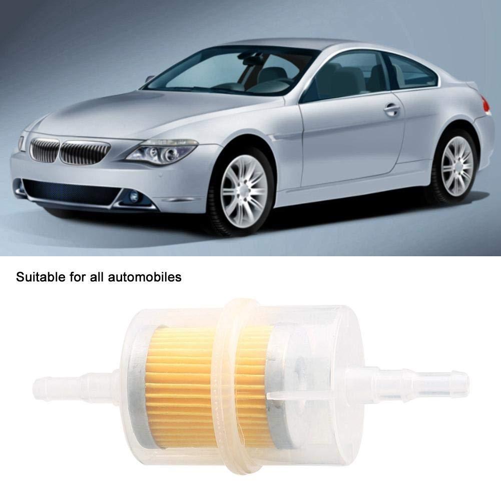 Universal Car Fuel Filtro benzina 6mm 8mm Ricambi auto Filtro carburante