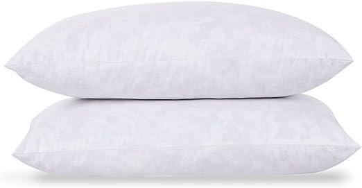Luxury White Feather Cushion Pad Insert Soft Machine Washable 5* Hotel Quality
