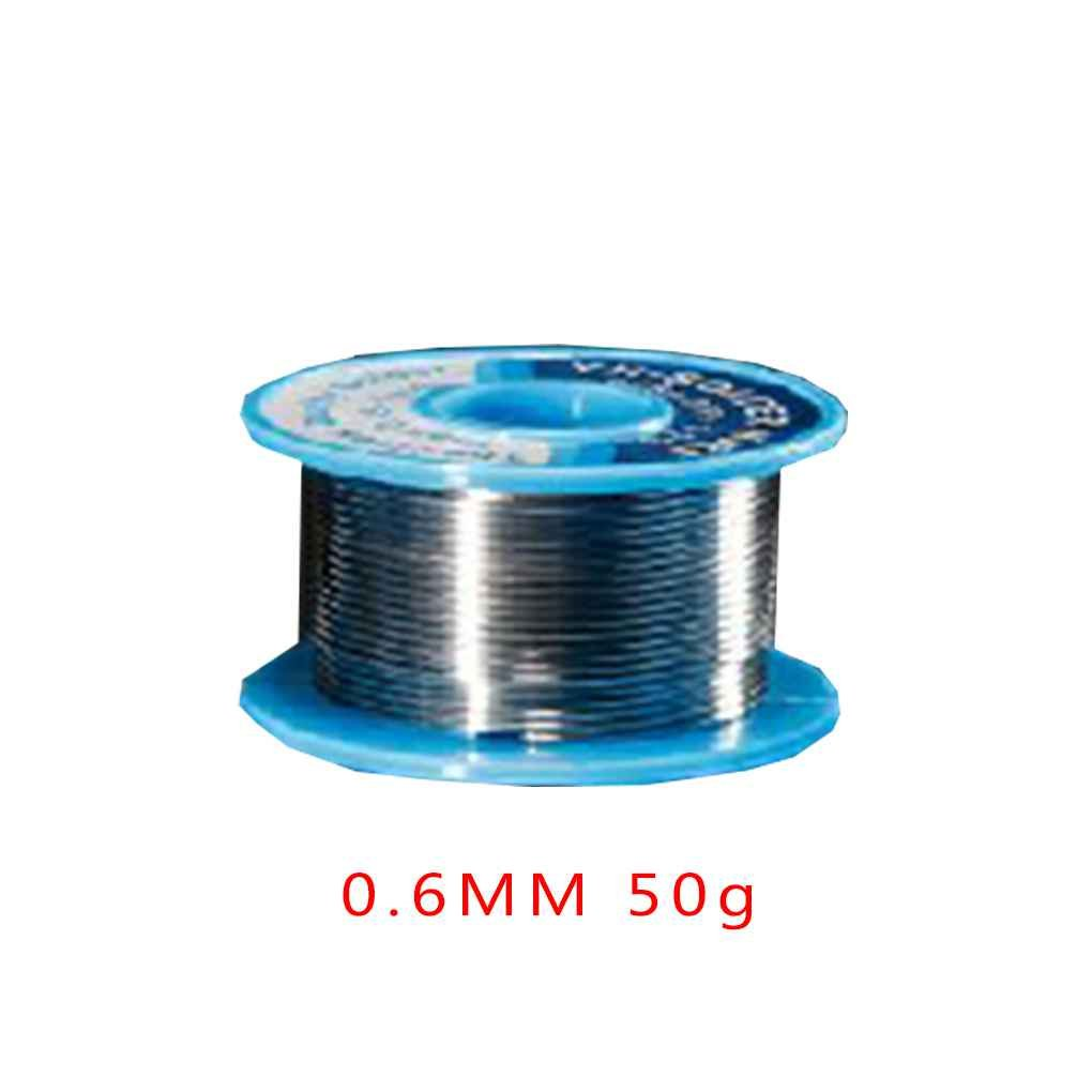 Topker us 0.6MM 50g Tin Solder Wire Low Melting Point Welding Rosin Tin Core for Welding Rework Repair