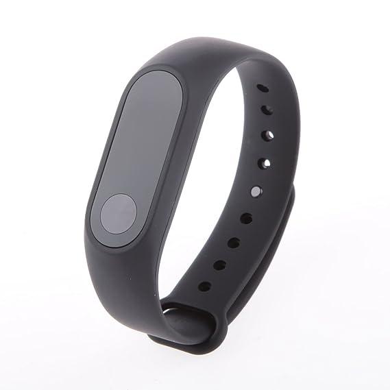 Xiaomi Mi Band 2 Pulsera Inteligente Smartwatch Impermeable Monitor de Frecuencia Cardíaca: Amazon.es: Relojes