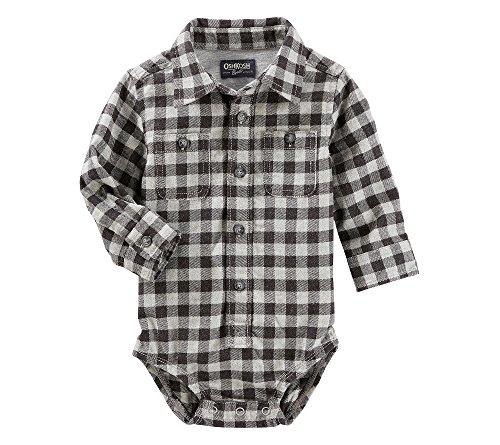 Plaid Button Front Shirt - 2