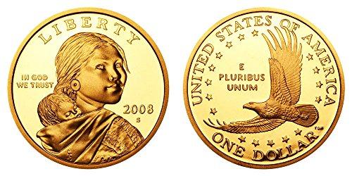 2008 S Sacagawea Proof $1 PF-1 US Mint