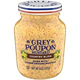 Grey Poupon Country Dijon Mustard, 8.0 oz Jar