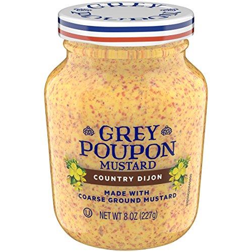 - Grey Poupon Country Dijon Mustard, 8.0 oz Jar