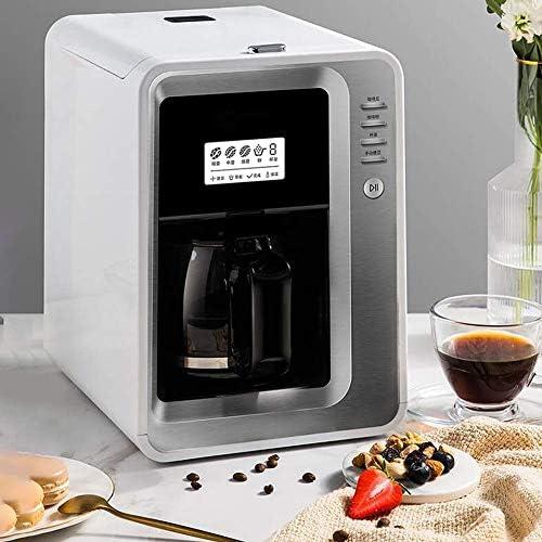 Qinmo Iced Machine à café, Machines à café domestiques, Bureau américain Machine à café entièrement Automatique Grinding Machine à café Bean Cup Machine à café Machine à café