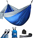 Supreme Double Hammock - Includes Fully Adjustable Straps -...