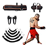 Leg Strength and Agility Training Strap System Strength Training Rope for Football Basketball Taekwondo Yoga Boxing Equipment