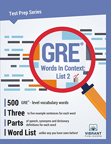 GRE Words In Context: List 2 (Test Prep Series Book 7)