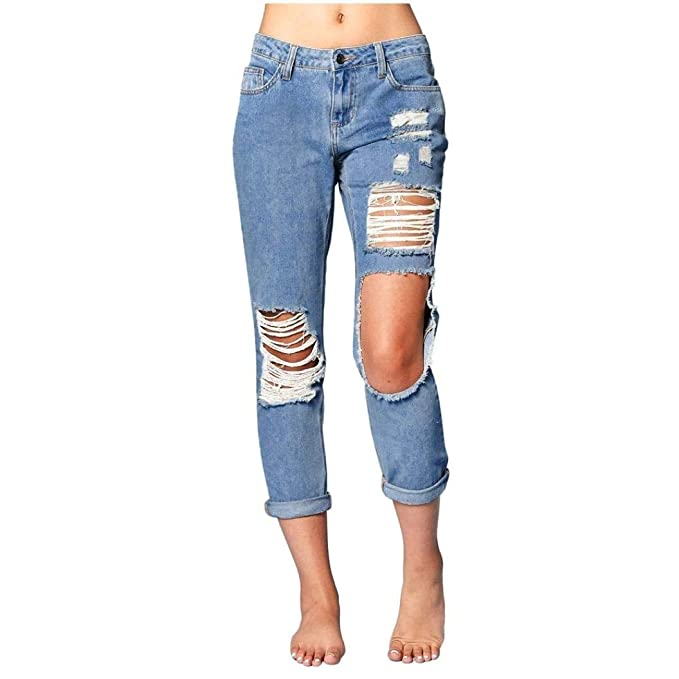 Pantalones Vaqueros Delgados 2018 para Mujer Pantalones ...