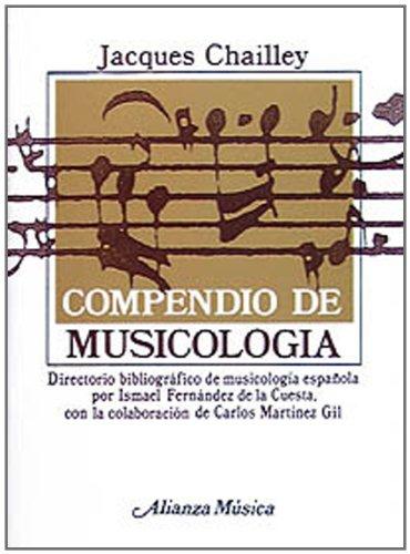 Descargar Libro Compendio De Musicología ) Jacques Chailley