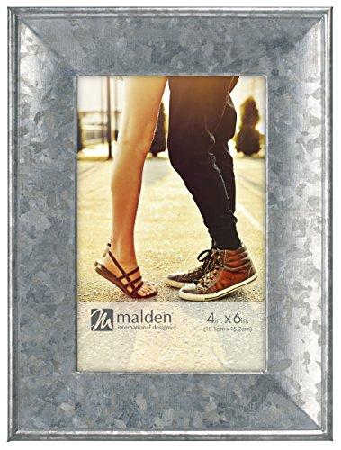 Malden International Designs 5435-46 4X6 Galvanized Metal