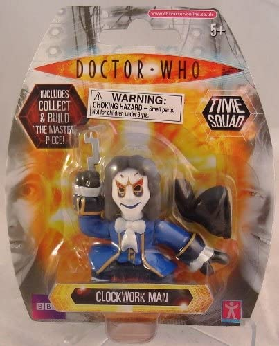 Doctor Who Time Squad Figures Complete your Collection Various Series