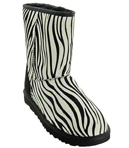 UGG Women's Classic Short Exotic Zebra 1 8 B US