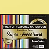 Arts & Crafts : Darice Core'dinations Value Pack Cardstock, 12 by 12-Inch, 100-Pack