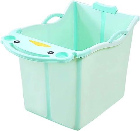 Bebé Tina De Baño Grande Caja De Baño Plegable Almacenamiento para ...