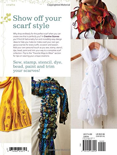Creative Scarves: 20+ Stylish Projects to Craft and Stitch: Tiffany ...