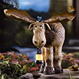 Bruce The Moose Bird Feeder And Lantern By Collections Etc