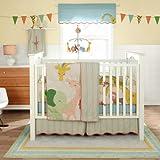 Little Circus 4 Piece Baby Crib Bedding Set w/Bumper by MiGi