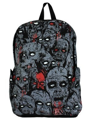Banned Zombies Grey Backpack