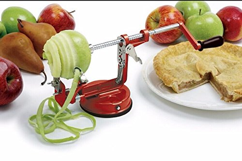 3 in 1 Apple Slinky Machine Peeler Corer Potato Fruit Cutter Slicer Kitchen Tool - 9