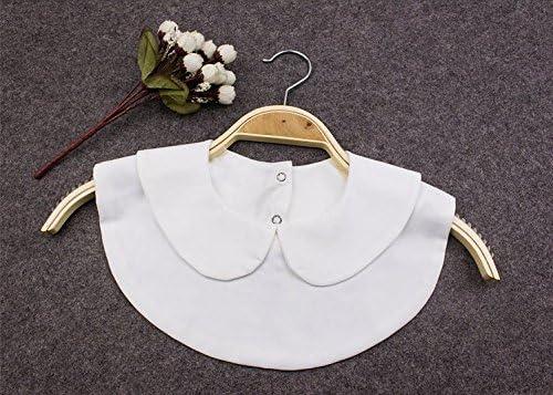 Fashion Doll cuello Vintage elegante mujer mitad Fake cuello falso blanco camisa blusa cuello desmontable media camisa (estilo 2): Amazon.es: Hogar