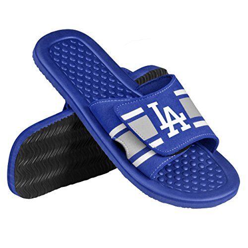 Los Angeles Dodgers Slippers Dodgers Comfy Feet Dodgers