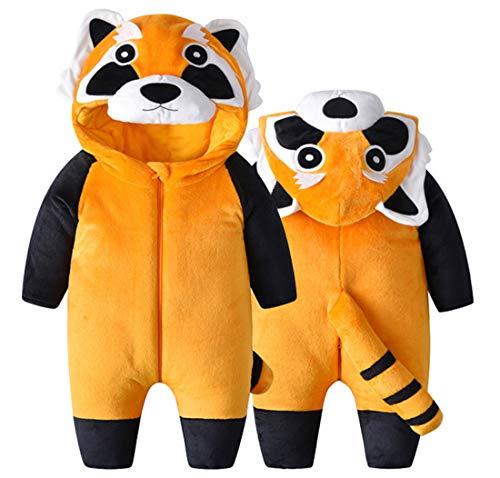 Doladola Babyjongens meisjes rompertjes dier capuchon onesie peuter jumpsuits herfst winter outfits