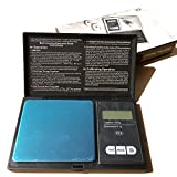 #5: Digital Pocket Scale 100 x 0.01g, 200 x 0.01g, 500 x 0.1g, 1000 x 0.1g with Back-lit LCD Display, Mini Digital Weighing Scale for Jewelry Coins Reload and Kitchen Scale (200 x 0.01g)