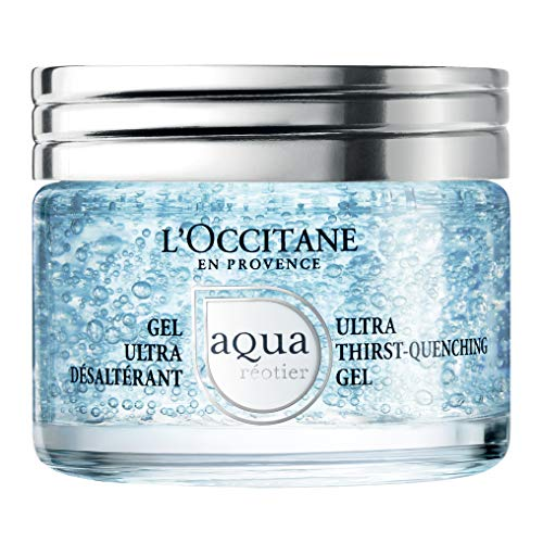 Aqua Hydration Pack - L'Occitane Moisturizing Water-Based Aqua Reotier Ultra Thirst-Quenching Gel Enriched with Hyaluronic Acid, Net Wt. 1.5 oz.