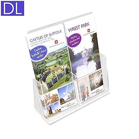 per brochure dl porta dépliant dispenser doppio per brochure formato