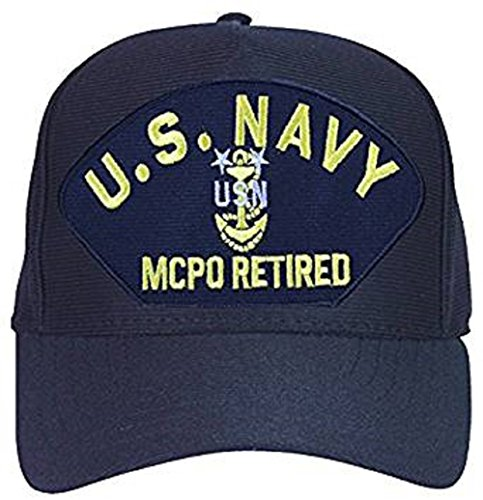 U.S. Navy Master Chief Petty Officer Retired Anchor Ball Cap ()