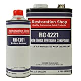 Restoration Shop 2.1 VOC High Gloss Urethane Clear Gallon Kit with Hardener