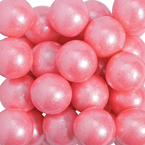 Shimmer Bright Pink Large Gumballs - Gifts for the - Pink Gumball