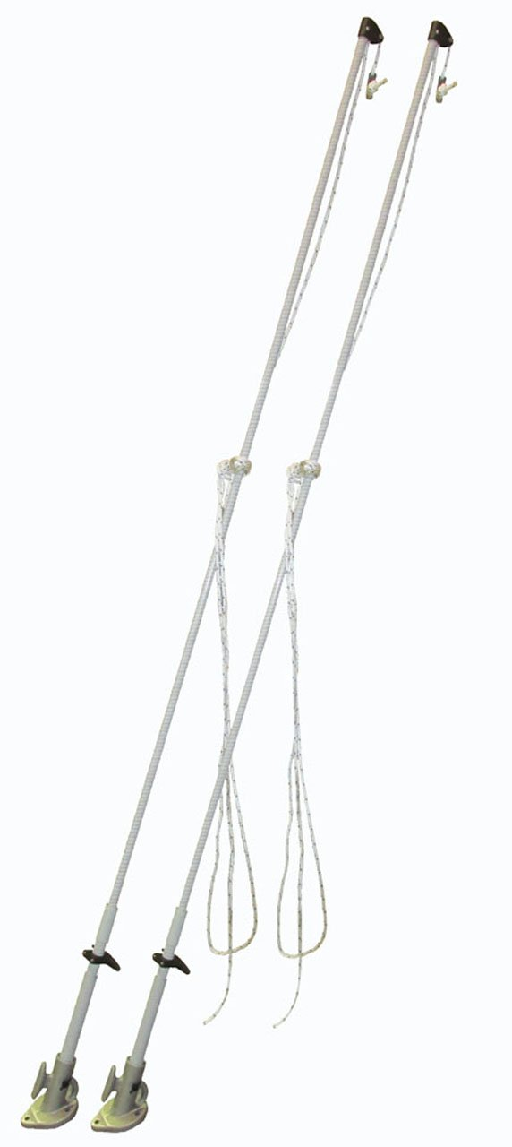or 10 000Lb 14 8, 5M ,, Set of 2 4, 3M 4536kg Dock Edge Mooring Whip for Craftup to 28