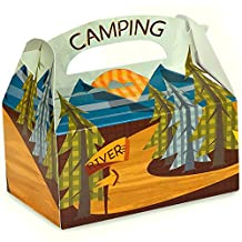 Let's Go Camping Party Supplies - Empty Favor Boxes (4)