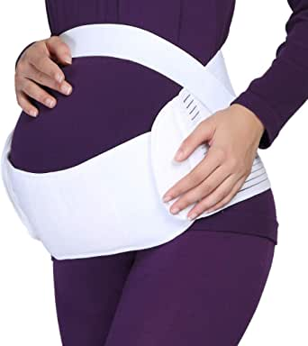 Katuae Maternity Support Belt, Breathable And Comfortable Pregnancy Support Belly Brace For Women, Waist/Back/Abdomen Band, Adjustable Size