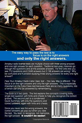 Pass Your Amateur Radio Extra Class Test - The Easy Way: Craig Buck