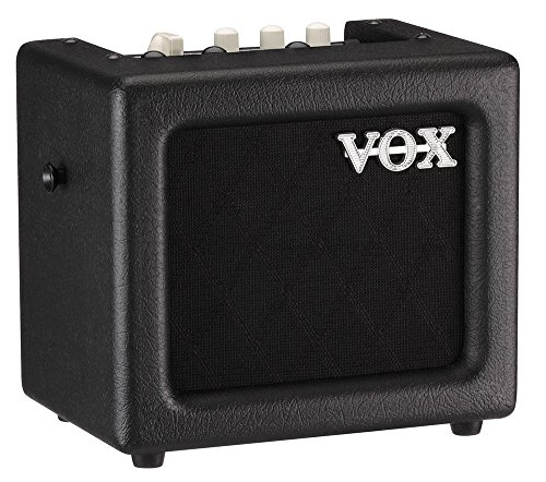 VOX MINI3G2BK Battery Powered Modeling Amp, 3W, Black by Vox