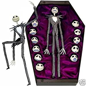 Amazon.com : Nightmare Before Christmas Jack [Stop Motion Puppet ...