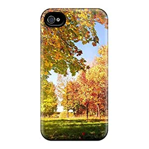 Snap-on Cases Designed Ipod Touch 4 - Nature Seasons Autumn Colorful Autumn Landscape