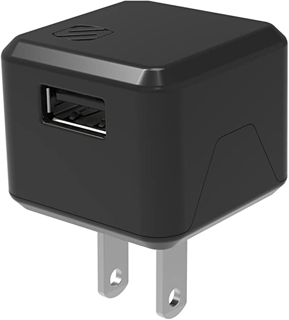 White SCO Scosche  Single USB Wall Charger Retail Packaging