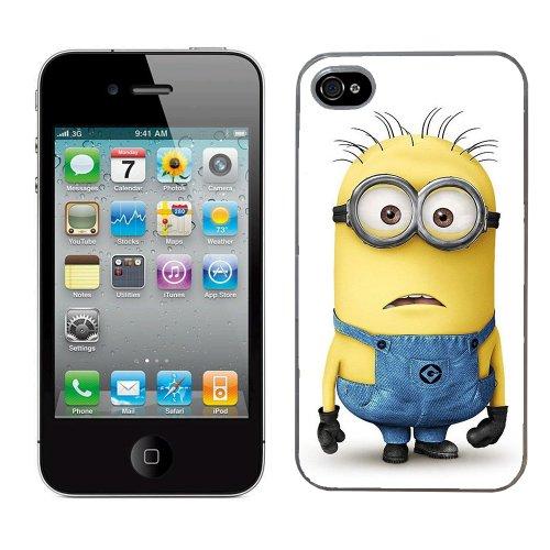 Moi moche et méchant Despicable me film minion cas adapte iphone 4 et 4s couverture coque rigide de protection (7) case pour la apple i phone