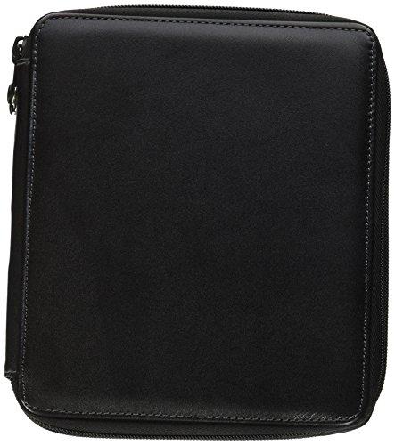 Global Art Materials 414720 72 Piece Global Art Leather Pencil Case, Black