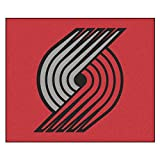 FANMATS 19472 NBA - Portland Trail Blazers Tailgater Rug , Team Color, 59.5''x71''
