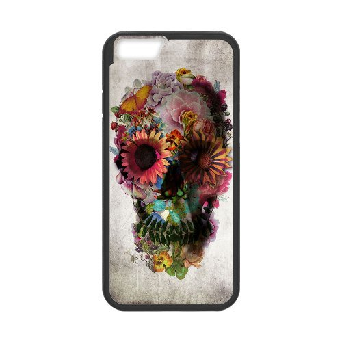 """LP-LG Phone Case Of Sugar Skull For iPhone 6 (4.7"""") [Pattern-1]"""