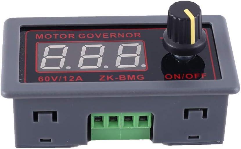 Módulo Controlador De Motor DC 9V 12V 24V 48V 500W 12A PWM Módulo De Controlador De Motor Pantalla LED Controlador de Velocidad De Motor DC Alta Potencia Regulador de Señal