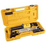 Yescom 5 Ton Hydraulic Gear Puller Bearing Wheel Pulling 3in1 Pumps Oil Tube Drawing Machine w/Case